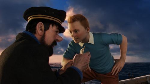 Részlet a Tintin kalandjai című filmből