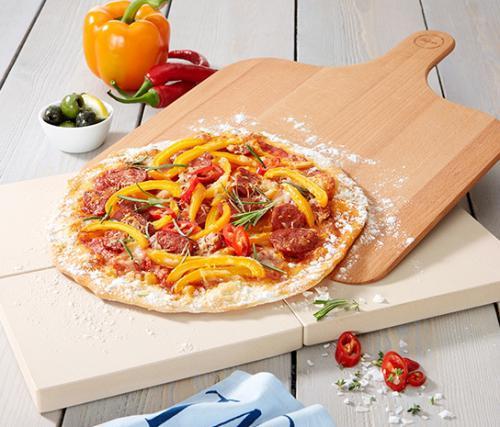 Pizza-és kenyérsütő kőlap