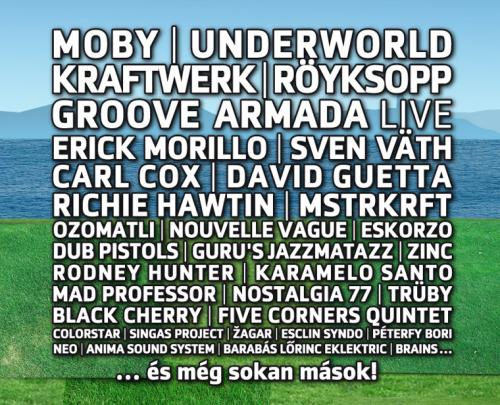 3. Balaton Sound: Moby, Underworld, stb...