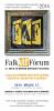 Falk Art Fórum 2014, plakát