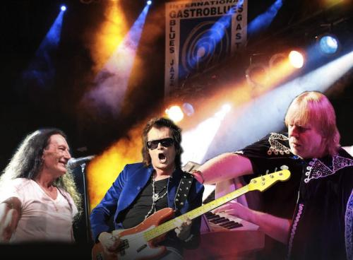 Ken Hensley & Live Fire, Glenn Hughes, Rick Wakeman & The English Rock Ensemble