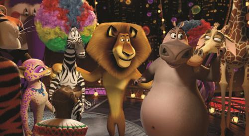 Részlet a Madagaszkár 3 című filmből