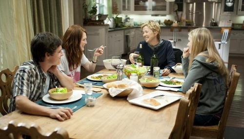 Ebben a családban mindig együtt vacsoráznak