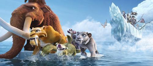 Részlet a Jégkorszak 4 című filmből
