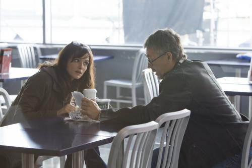 Rachel Weisz és a rendező, Tony Gilroy