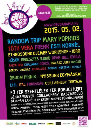 Óbuda Napja 2015, plakát