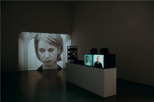 Ana Torfs, ANATOMY (Anatómia), kiállítási enteriőr / installation view, daadgalerie, Berlin, 2006 © Ana Torfs
