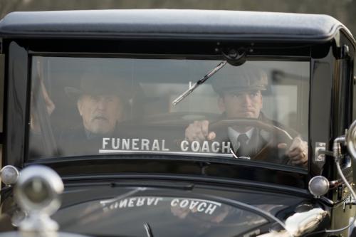 Robert Duvall és Lucas Black A temetésem szervezem c. filmben