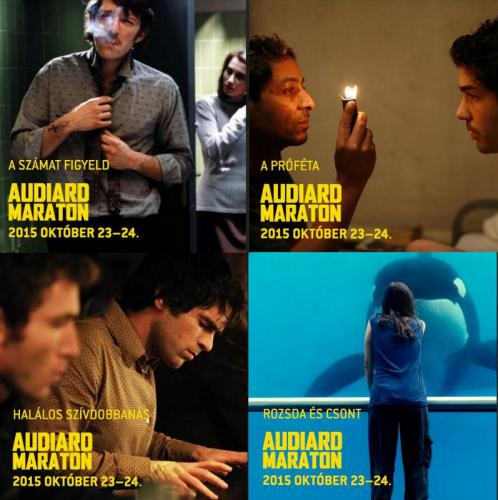 Audiard-maraton kollázs