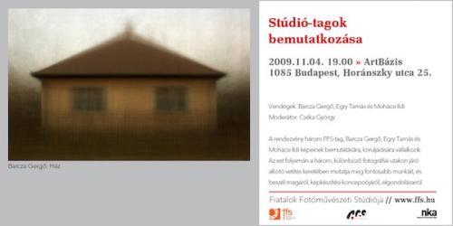 Barcza Gergő: Ház