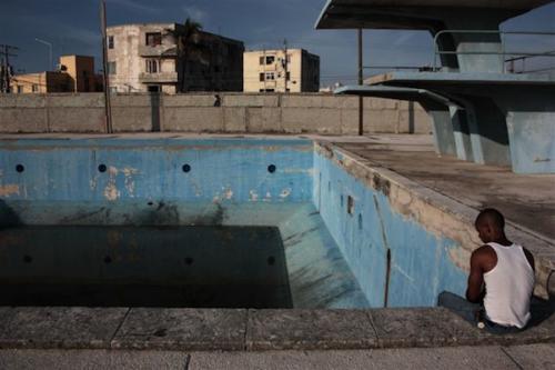 Bihari Ágnes Havannában készített képe