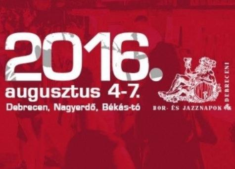 Debreceni Bor-és Jazznapok plakát
