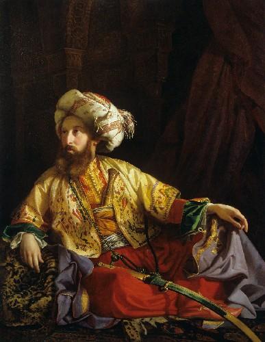Borsos József: Libanoni emír, 1843