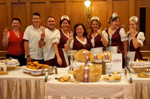 A győztes csapat (Kurdy Family Pék Kft.)