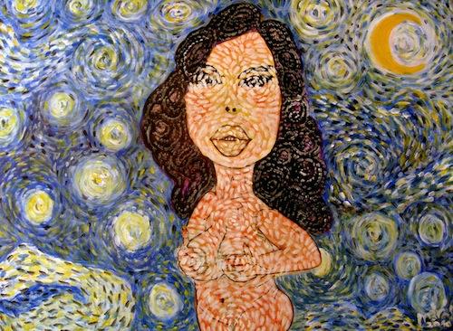 drMáriás: Geronazzo Mária Vincent Van Gogh műtermében