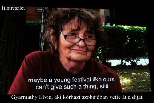 Gyarmathy Lívia (filmrészlet)