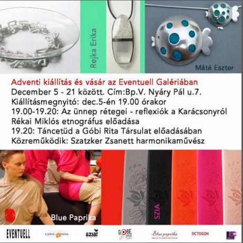 Adventi kiállítás és vásár az Eventuell Galériában