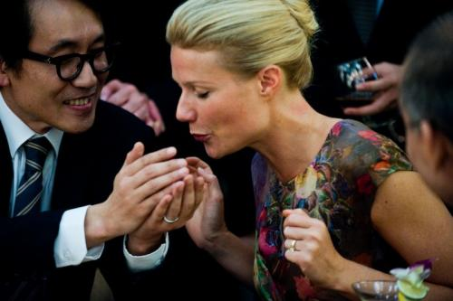 Gwyneth Paltrow a Fertőzés c. filmben