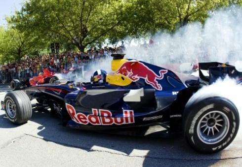 Formula-1 bemutató