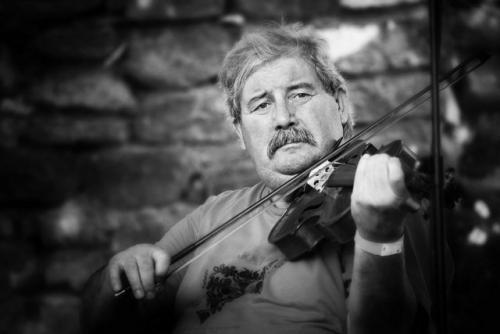 Halmos Béla, hegedű