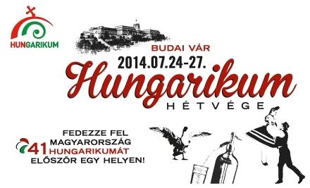 Hungarikum Hétvége 2014, plakát