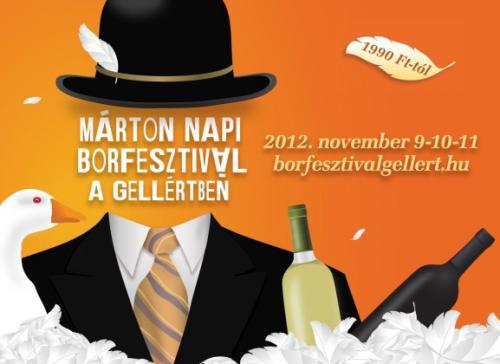 Márton Napi Borfesztivál a Gellértben 2012