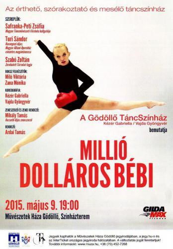 Millió Dolláros Bébi plakát