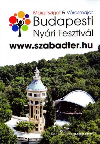 Budapesti Nyári Fesztivál plakát