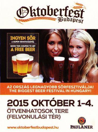 Oktoberfest szórólap