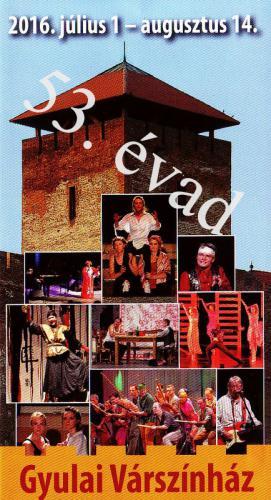 Nyáron színházba Gyulára várom!