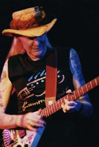 Johnny Winter, gitár