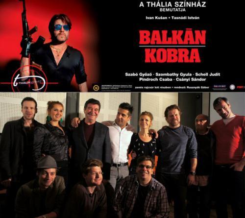 Balkán kobra, plakát