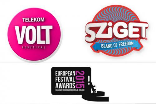 European Festival Awards díjazottak