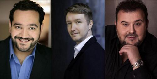 Tenor3 - René Barbera, Maxim Mironov és Fabio Sartori