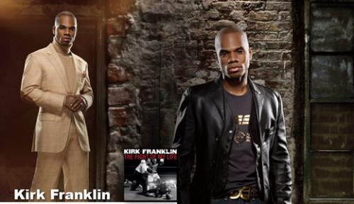 Kirk Franklin, ének