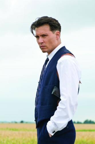 Johnny Depp John Dillinger szerepében