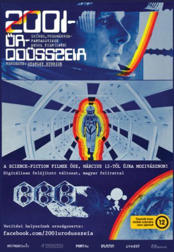 2001: Űrodüsszeia plakát