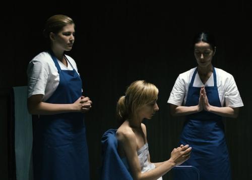 Jelenet a Lourdes c. filmből
