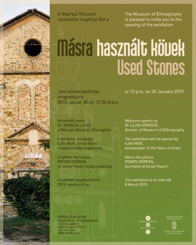 Másra használt kövek meghívó
