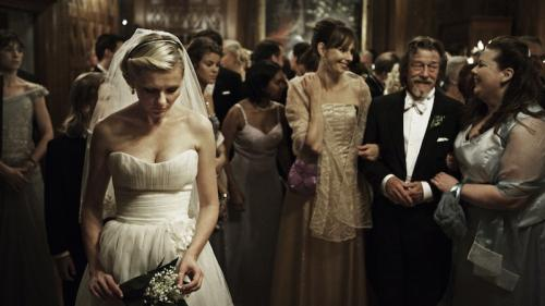 Kirsten Dunst a Melankólia c. filmben (Fotó: Christian Geisnaes)
