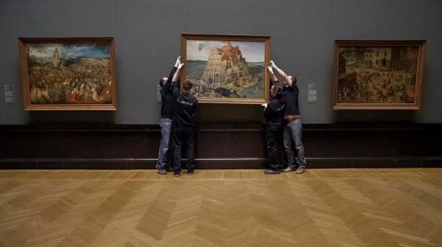 A Nagy Múzeum jelenet