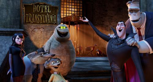 Részlet a Hotel Transylvania című filmből