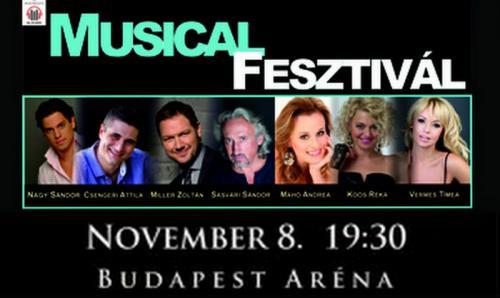 Musical Fesztivál plakát