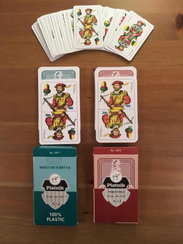Piatnik magyar kártyák
