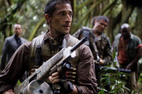 Adrien Brody a Ragadozók c. filmben