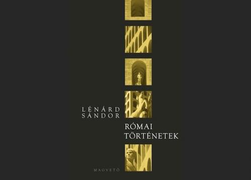 Lénárd Sándor: Római Történetek, borító