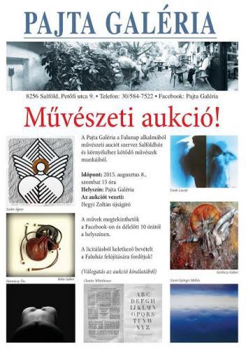 Pajta Galéria plakát