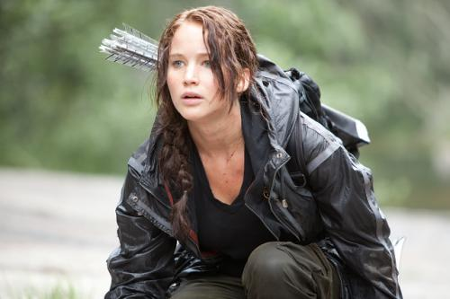 Jennifer Lawrence mint Katniss