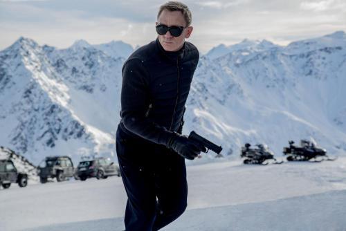 Daniel Craig a 007 Spectre - A Fantom visszatér c. filmben