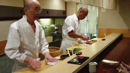 Részlet a Sushiálmok c. filmből